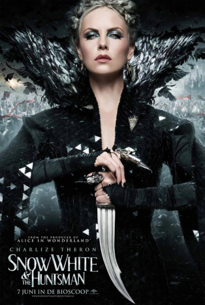 Vier personageposters Snow White and the Huntsman