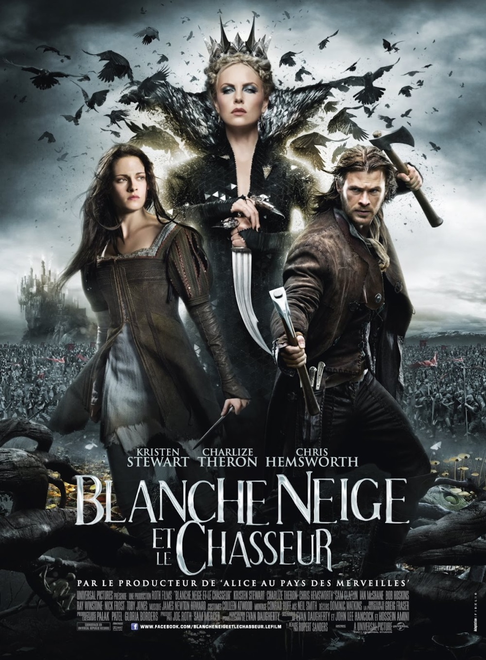 Flinke reeks foto's en poster Snow White and the Huntsman