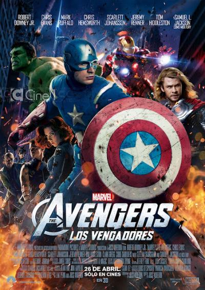 Twee tv-spots en poster The Avengers