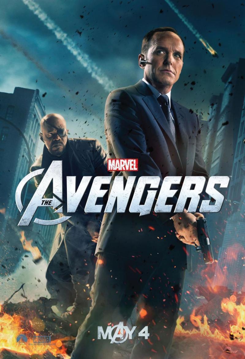 Ook S.H.I.E.L.D. Agent Coulson krijgt een The Avengers poster
