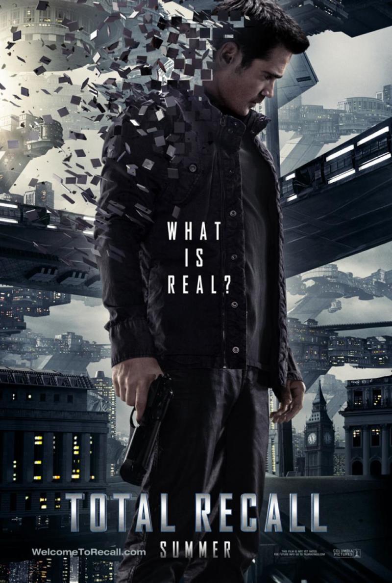 Eerste (motion)poster Total Recall