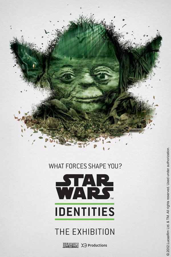 Fraaie posters Star Wars tentoonstelling