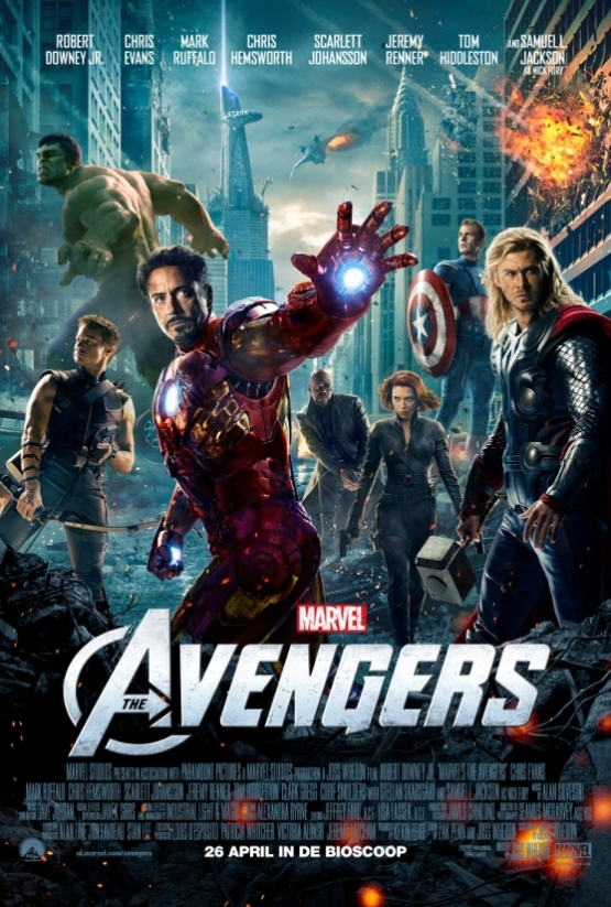 Nieuwe trailer The Avengers!