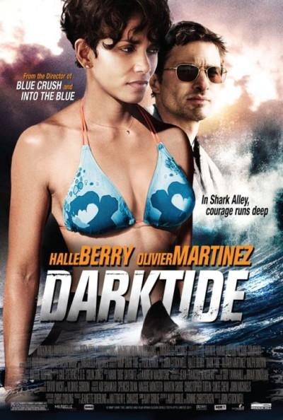 Eerste poster Dark Tide: geen haaien, wel veel Halle Berry