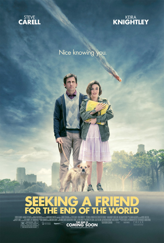 Teaser Poster Seeking a Friend for the End of the World