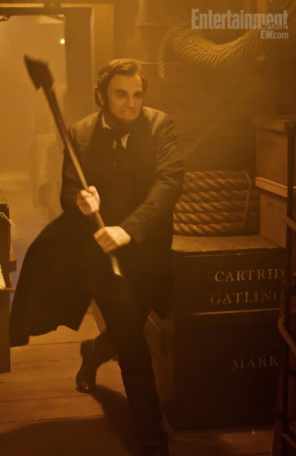 Vijf nieuwe foto's Abraham Lincoln: Vampire Hunter