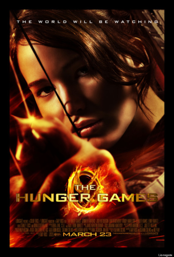 Definitieve poster The Hunger Games
