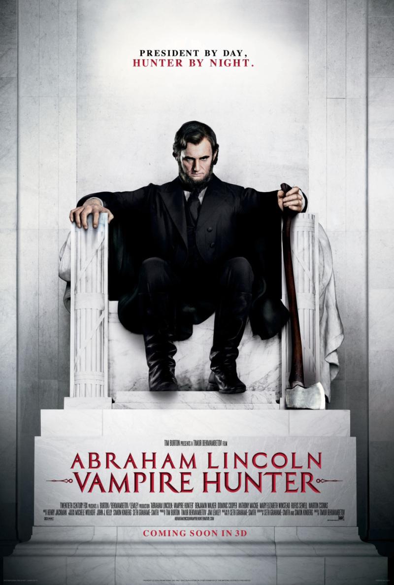 Abraham Lincoln: Vampire Hunter poster & foto's