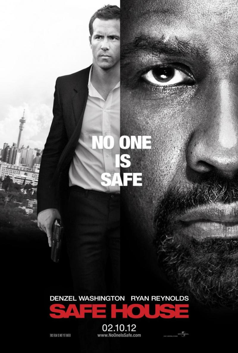 Nieuwe poster Safe House