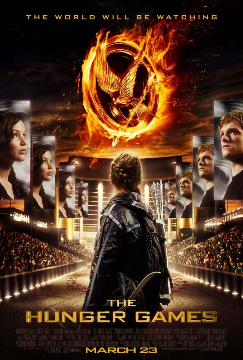 Nieuwe poster The Hunger Games