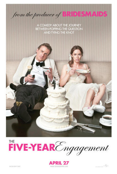 The Five-Year Engagement trailer + poster
