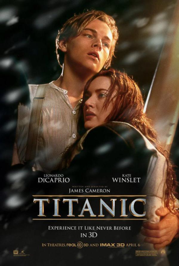 Poster Titanic 3D