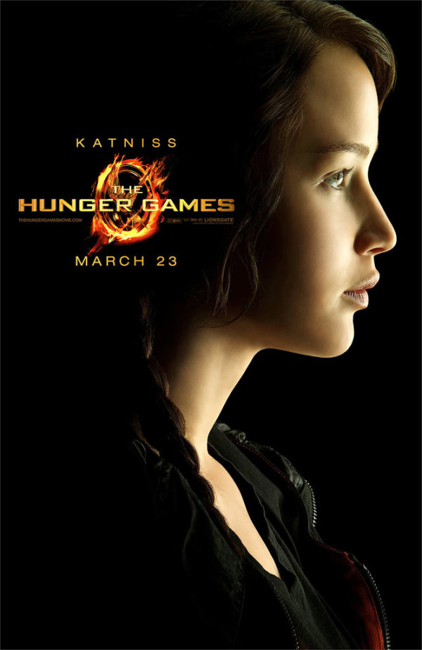 Acht The Hunger Games personageposters