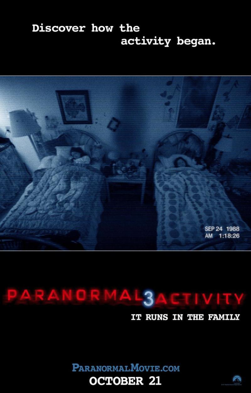 Definitieve Paranormal Activity 3 poster