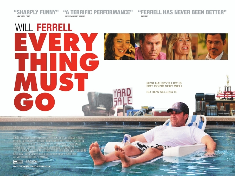Nieuwe poster Everything Must Go