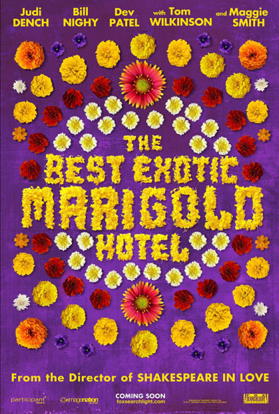 The Best Exotic Marigold Hotel trailer + poster
