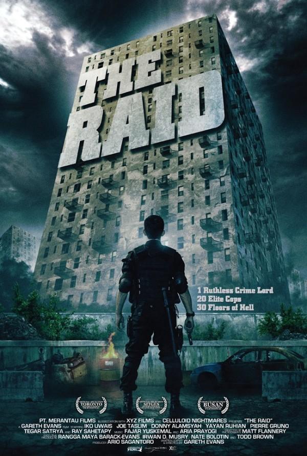 Eerste poster The Raid