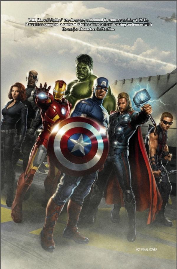 Promo art The Avengers