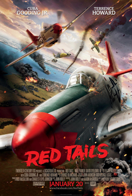 Nieuwe trailer & poster Red Tails