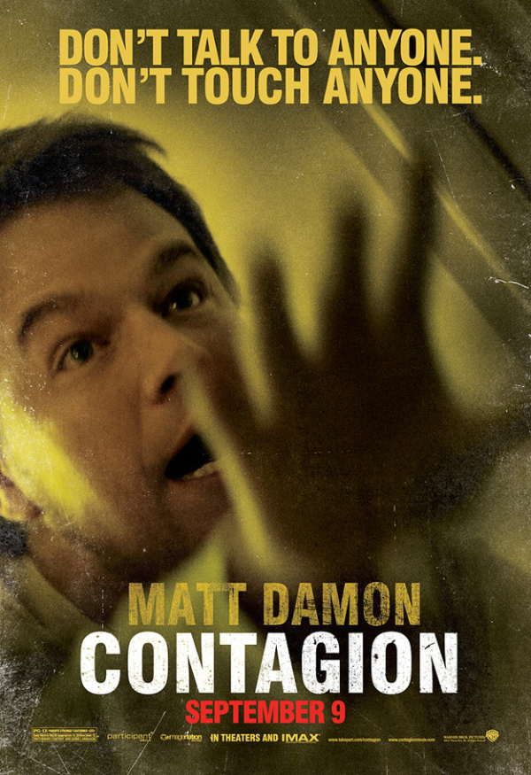 Zes Contagion posters