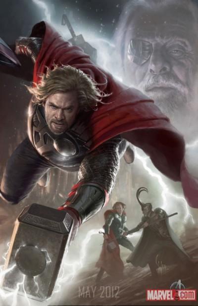 The Avengers: Thor & S.H.I.E.L.D. agents
