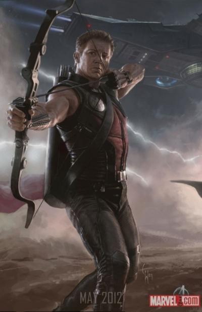 The Avengers: Hawkeye & Black Widow