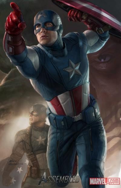 Exclusieve Comic-Con art The Avengers