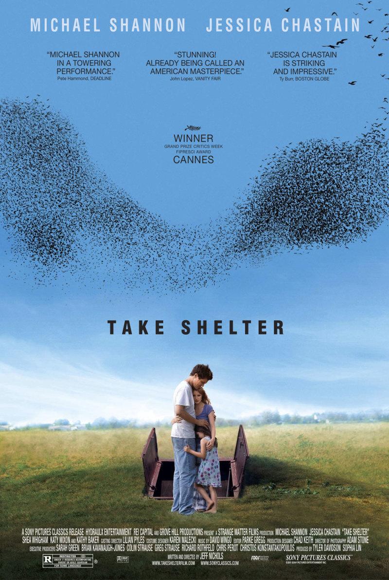 Eerste Take Shelter poster