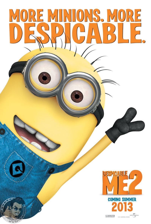 Despicable Me 2 teaserposter