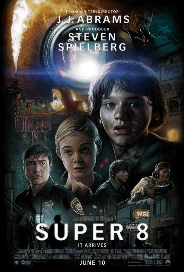 Fraaie Fan-made Super 8 poster