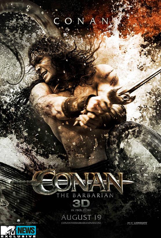 Vijf Conan The Barbarian posters