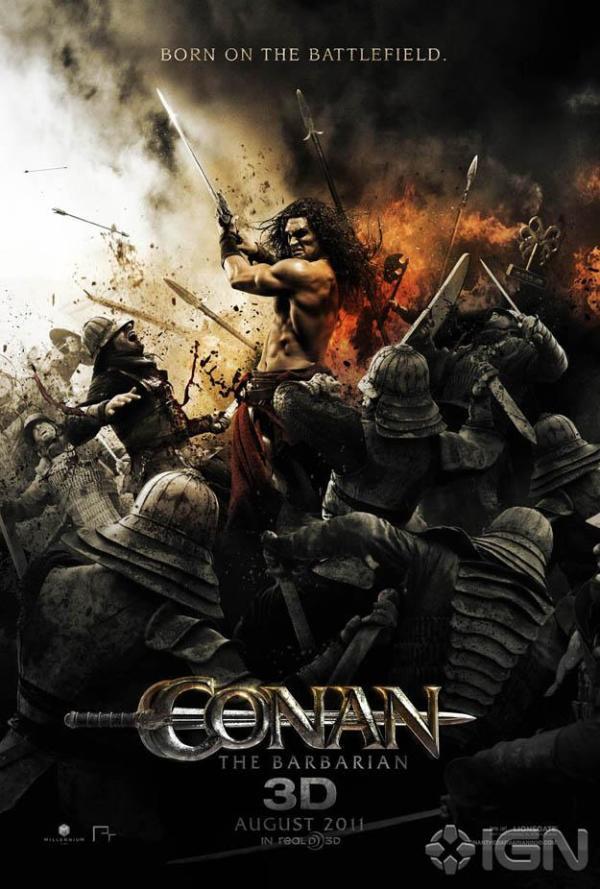 Nieuwe Conan the Barbarian poster