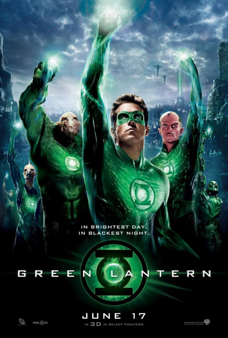 Nieuwe poster Green Lantern