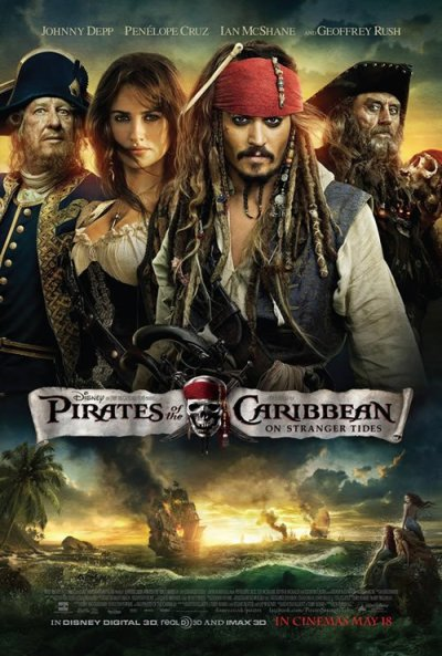 Definitieve Pirates of the Caribbean IV poster