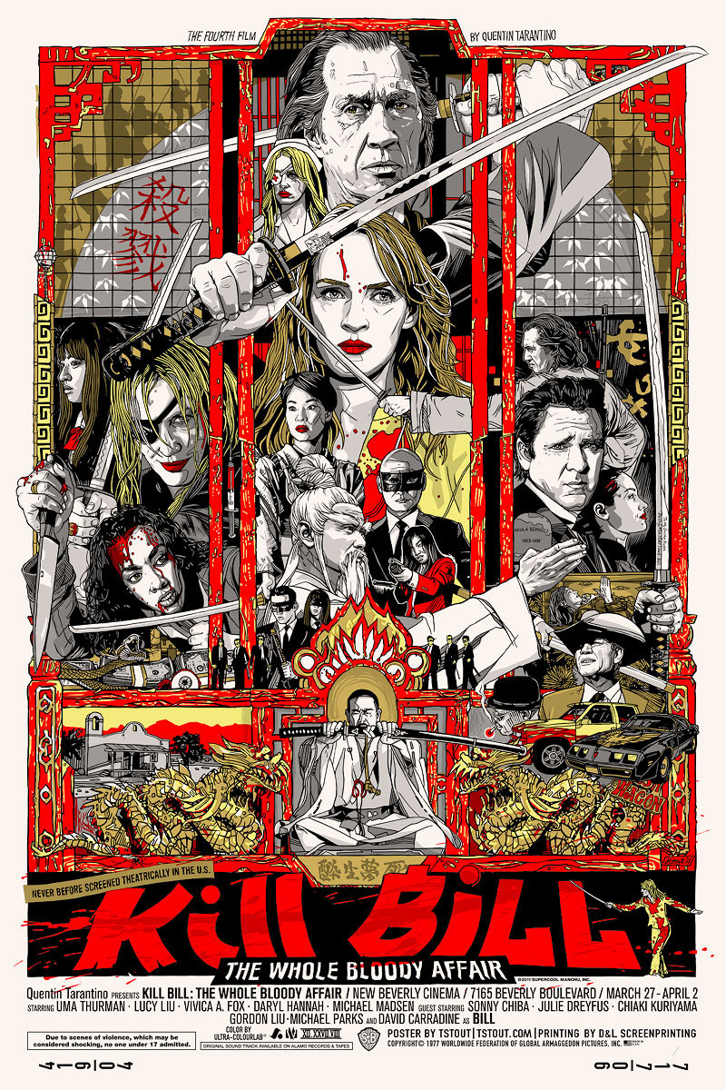Kill Bill: The Whole Bloody Affair poster