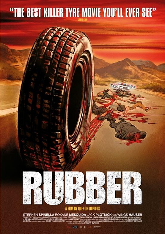 Nieuwe poster 'Rubber' online