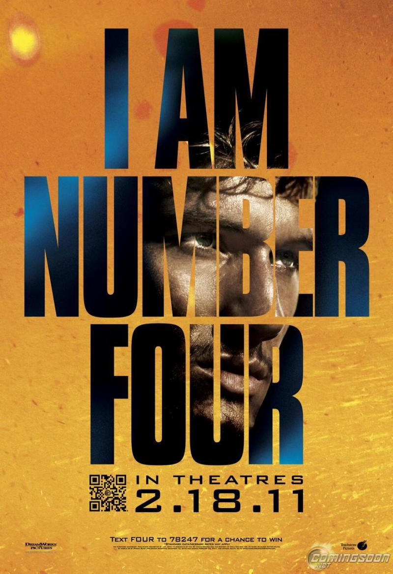 Nieuwe poster I Am Number Four