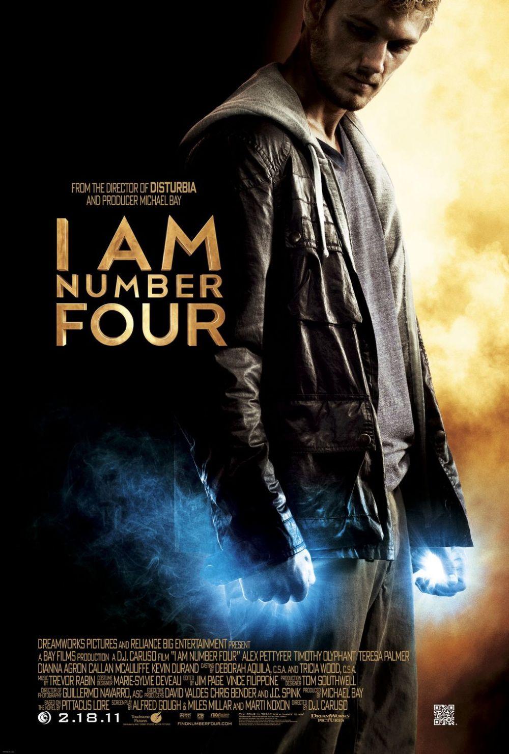 Eerste I Am Number Four poster