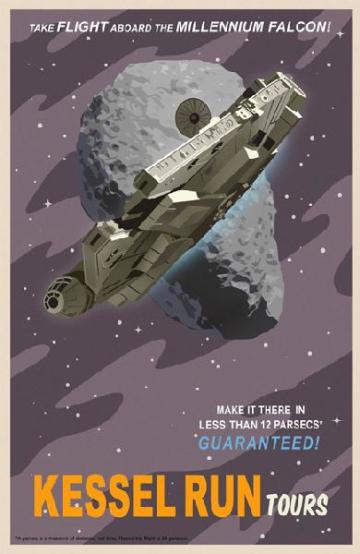 Star Wars toerisme posters