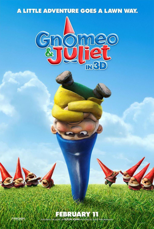 Eerste Gnomeo and Juliet poster