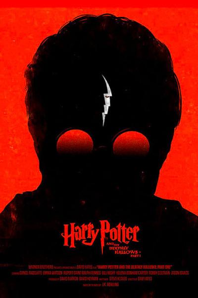 Artistieke Harry Potter 7.1 filmposter