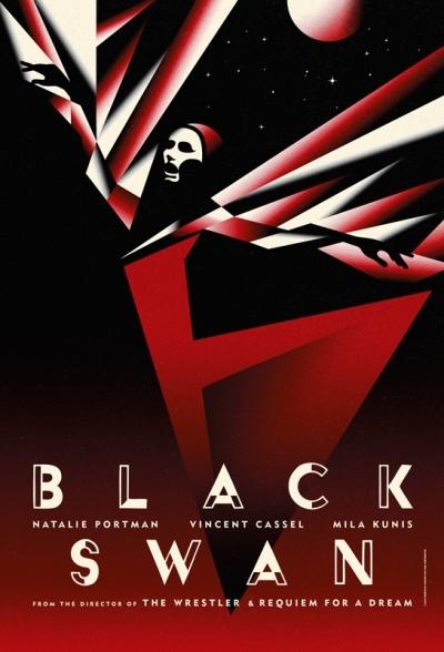 Oogstrelende teaser posters Black Swan