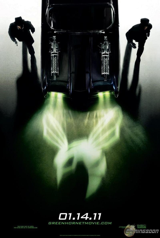 Eerste The Green Hornet poster