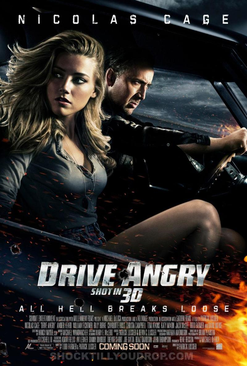 Supersnelle Drive Angry 3D poster