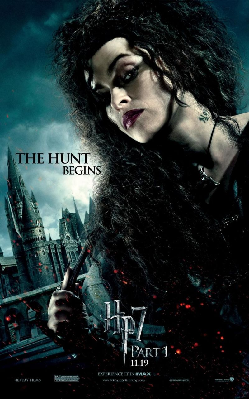 Vier extra posters Harry Potter 7.1