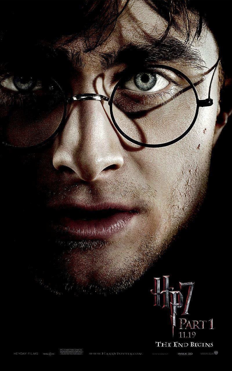 Uiterst donkere Harry Potter 7.1 karakterposters