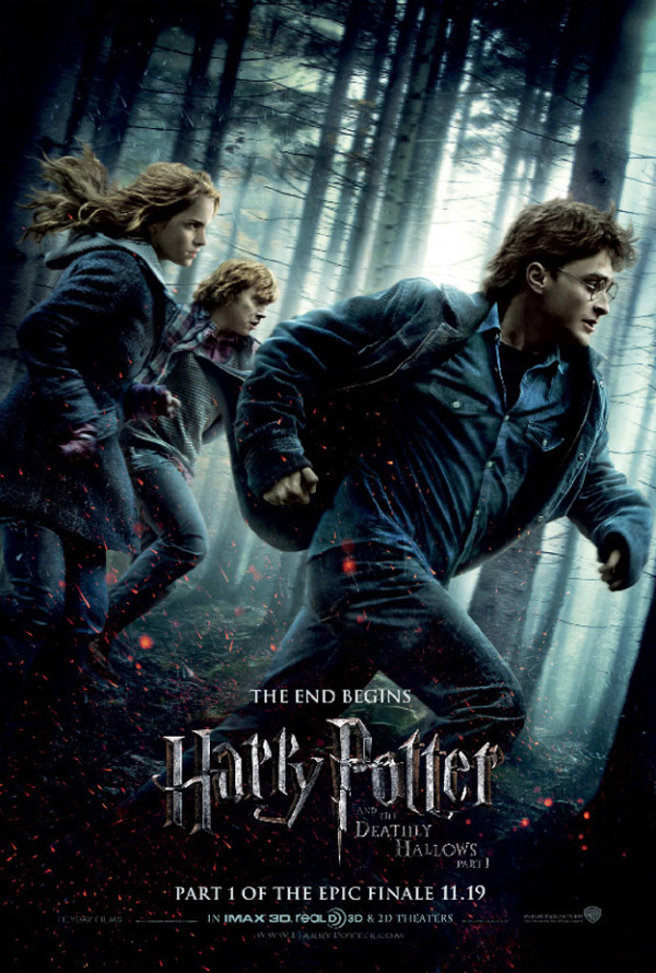 Nieuwe The Deathly Hallows: Part I filmposter