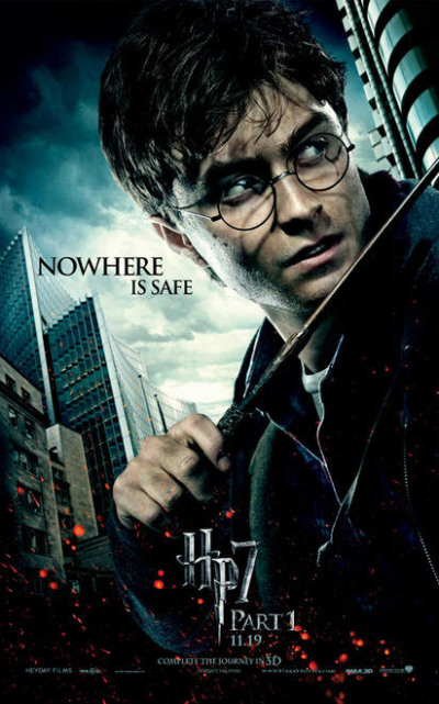 Drie karakterposters Harry Potter and the Deathly Hallows - Part 1