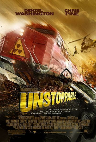 Nieuwe Unstoppable poster verduidelijkt synopsis