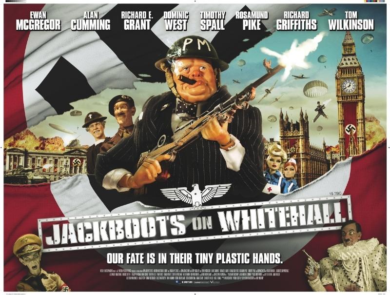 Jackboots on Whitehall: filmposter!